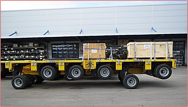 Goldhofer Hydraulic Flatform Trailers G7 Heavy Lift